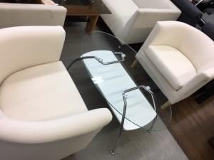白ガラスセット1