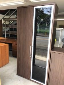 木製観音開き書庫
