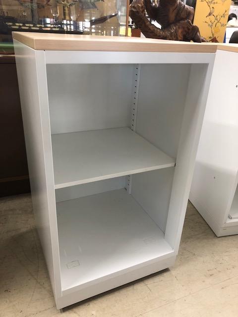 2段オープン書庫